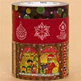 Festliches mt Masking Tape Klebeband Weihnachts 3er Set