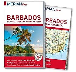 MERIAN live! Reiseführer Barbados St. Lucia Grenada: Mit Extra-Karte zum Herausnehmen