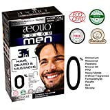 #5: AEQUO ORGANIC 100% SKIN SAFE NATURAL SOFT BLACK BEARD AND HAIR COLOUR 2N (NO POWDER, PPD, AMMONIA FREE, HALAL CLINICALLY CERTIFIED)