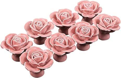 Knöpfe 8 Stück rose Ø 23,00