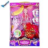 Techhark Doll Set of Barbie With Dresses...