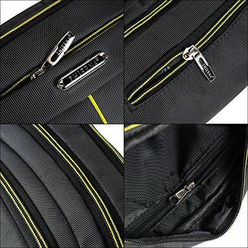Skysper Hüfttasche Outdoor Sporttasche Brust Oxford Gürteltasche der Geldbeutel Männer Gelb