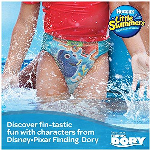 Huggies 12 Little Swimmers – Schwimmwindeln, 2er Pack (2 x 12 Stück) - 4