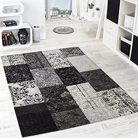 Vintage Rug - Antik - / Trendy Carpet / Patchwork-style