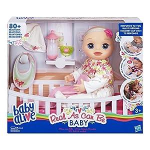 Baby Alive- Bebé Interactivo (Hasbro E2352ES0)