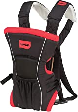 LuvLap Baby Carrier Blossom Red/Black