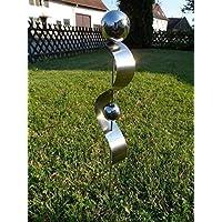 """Edelstahlstele""""D-60cm"""" Gartenstecker aus Edelstahl Gartendeko Pflanzenstab Pflanzenstecker"""