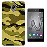 003596 - Green Camouflage Design Wiko Robby / Wiko S-Kool