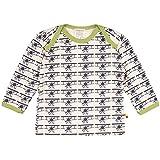 loud + proud Unisex Baby T-Shirt, Druck, Blau (Navy-Flugzeug Ny-Fl), 80