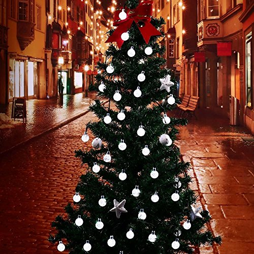 Decorazioni Natalizie Da Esterno.Qedertek Luci Di Natale Da Esterno 6m 30led Luci Addobbi Natalizie