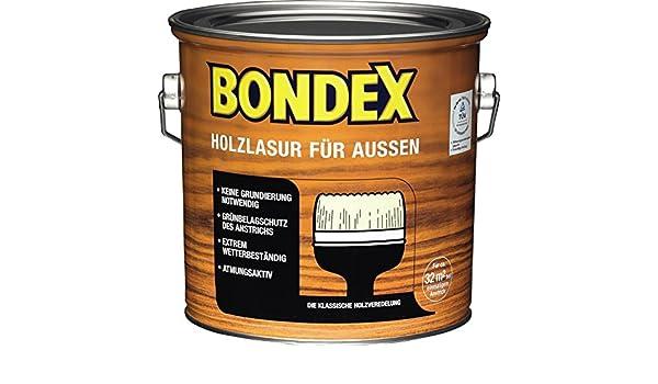 Bondex Holzlasur Fur Aussen Hellblau Grau 2 5 Liter Amazon De Baumarkt