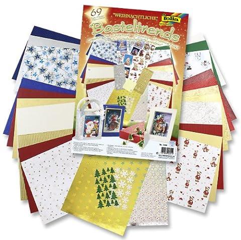 Folia 944 - Bastelset Weihnachtlich 69 Teile