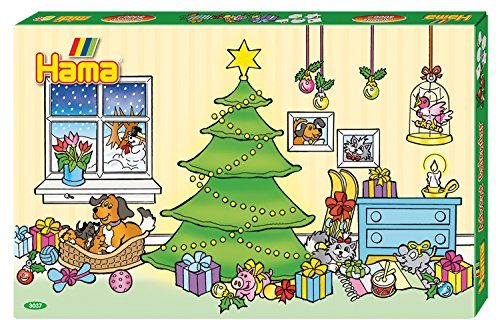 Hama Beads Advent Calendar - 24 Seasonal Designs