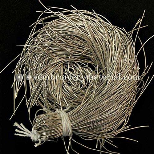 Embroiderymaterial Französischer Draht für Schmuckherstellung und Stickerei, Glattes Finish Frost -
