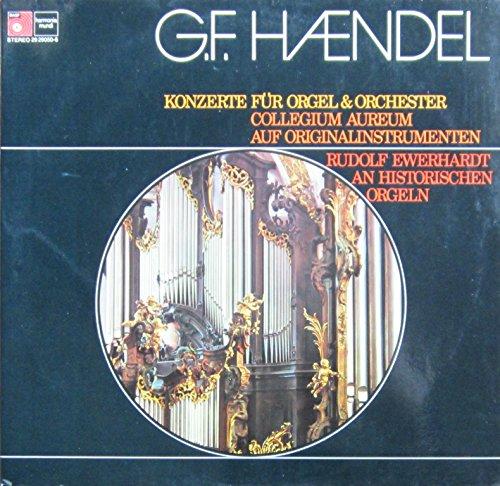 Händel: Konzerte für Orgel & Orchester [Doppel-LP] [Schallplatte]