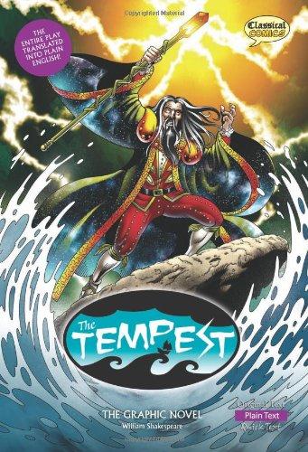 The Tempest The Graphic Novel: Plain Text (British English)