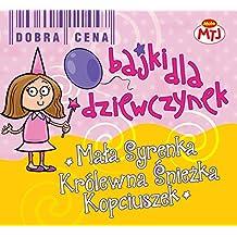 Bajki dla dziewczynek Mala Syrenka Krolewna Sniezka Kopciuszek 3CD