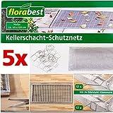 FLORABEST® Kellerschacht-Schutznetz, 60 x 120 cm (5 Stück)