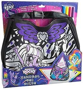Ct - My Little Pony - Equestria Girls - Ct23601 - Kit De Loisirs Créatifs - Sac Rock & Color'