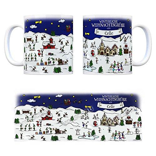 Winterliche Weihnachtsgrüße.Celle Weihnachten Kaffeebecher Mit Winterlichen Weihnachtsgrüßen Tasse Weihnachtsmarkt Weihnachten Rentier Geschenkidee Geschenk