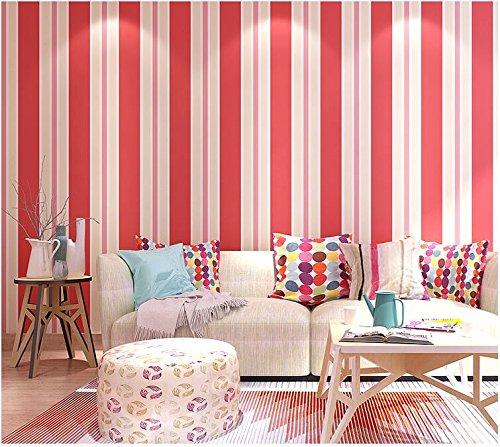 Yosot Modernes Minimalistisches Farbstreifen Tv Hintergrund Tapete Tapete Grüne Wohnzimmer Wohnzimmer Zimmer Kinder Zimmer Crimson -