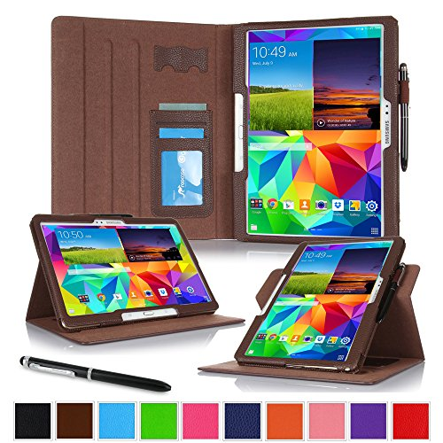 roocase-samsung-galaxy-tab-s-105-case-dual-view-multi-angle-stand-27cm-27cm-tablet-cover-brown-with-