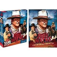 Comparador de precios Aquarius John Wayne película 1000piezas Jigsaw Puzzle - precios baratos