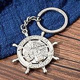 Portachiavi Portatile Di Ancoraggio Di Moda Us San Francisco Keychain Del Regalo Del Ricordo Di Viaggio Per L'anello Chiave D'argento Di Colore Dell'amico Per La Chiave