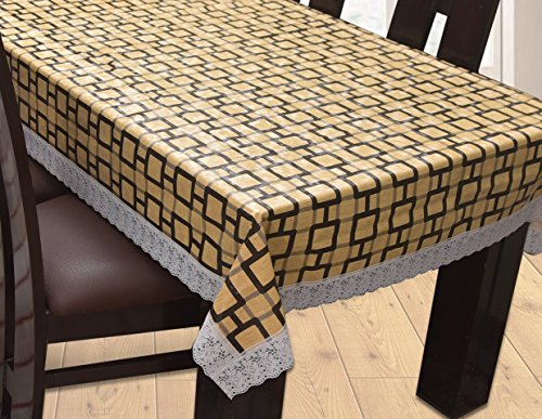Yellow Weaves™ Dining Table Cover Waterproof 6 Seater 60X90 Inches( Exclusive Design)