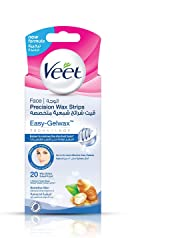 Veet Hair Removal Face Hair Removal Coldwax Strips - Pack Of 20