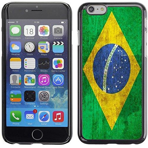 Graphic4You Vintage Uralt Flagge Von Argentinien Argentinische Design Harte Hülle Case Tasche Schutzhülle für Apple iPhone 6 Plus / 6S Plus Brasilien Brasilianisch