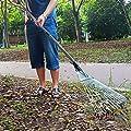 Eruditter Laubrechen Gardena Metall, Rechen Gardena, Ideales Gartenzubehör Zum Zusammenfegen Von Gartenabfällen Wie Laub Oder Grasschnitt