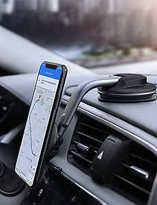 Aukey 2021 Upgrade Handyhalterung Auto Magnet Handyhalter Fürs Auto Magnet 360 Drehbar Für Iphone Samsung Huawei Xiaomi Elektronik