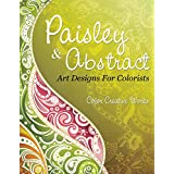 Paisley & Abstract Art Designs For Colorists