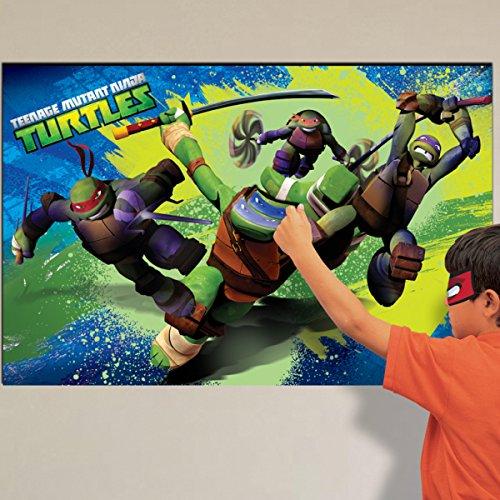 Amscan Teenage Mutant Ninja Turtles Party GameP - Pack of 1 - Turtle Ninja Pack Party
