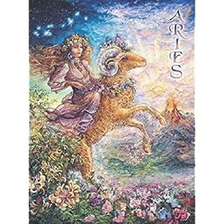 Leanin' Tree Aries - Josephine Wall Zodiac Greeting Card