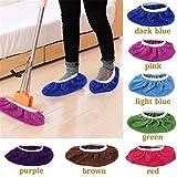 Un par de cubiertas de zapatos absorbentes antideslizantes para cortar el suelo