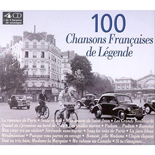 100 [cent] Chansons françaises de légende