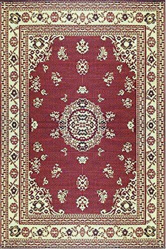 Mad tappetini interni floreali/tappetino per esterni, 6 da 2,74 m,