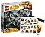 Star Wars LEGO Moloch's Landspeeder 75210 Spielzeug Han Solo Stickerbogen