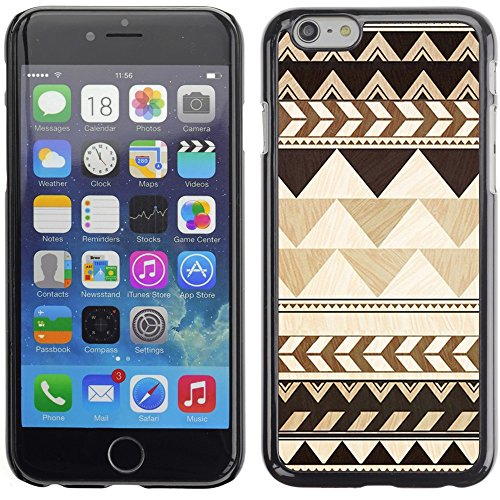 Graphic4You COLORFUL TRIBAL Muster Harte Hülle Case Tasche Schutzhülle für Apple iPhone 6 Plus / 6S Plus Design #9