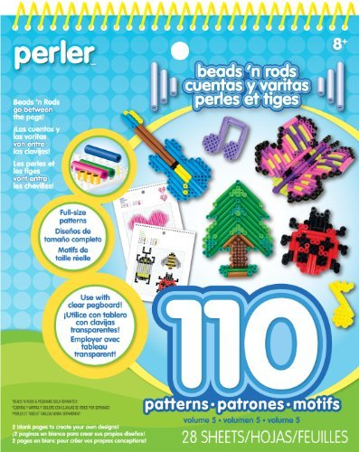 Perler Beads and Rods Pattern Pad by Perler