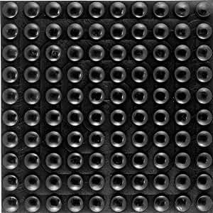 Specialist SB1521 Blister auto-adhésives-noir (8 pièces)