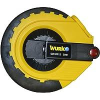 WURKO 145044-Rotella metrica in fibra vidrio-.gd12 30mt 15 mm.