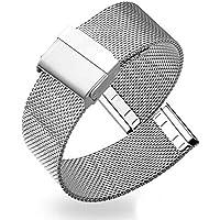 Watches Cinturini Cinturino in Acciaio 14 Millimetri 16 Millimetri 18 Millimetri 19 Millimetri 20 Millimetri 22…