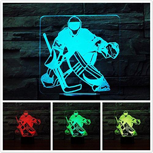 er Optische Illusions-Lampen, Tolle 7 Farbwechsel Acryl berühren Tabelle Schreibtisch-Nachtlicht mit USB-Kabel für Kinder Schlafzimmer Geburtstagsgeschenke Geschenk (Charlie Brown Halloween-musik)
