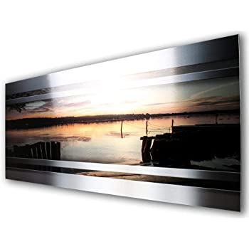 Sonnenuntergang Sunset Designer Fliesenspiegel Spritzschutz
