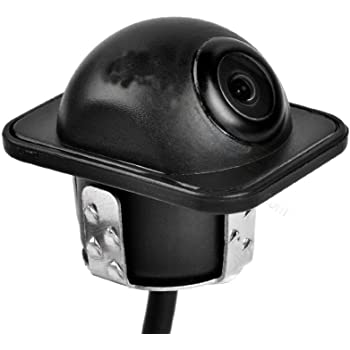CoCar Auto Pkw Frontkamera 18.5mm Bohren Lochs/äge Flush Mount Vordere Aussicht Frontsto/ßstange HD Non-Mirror Image No Guide Lines