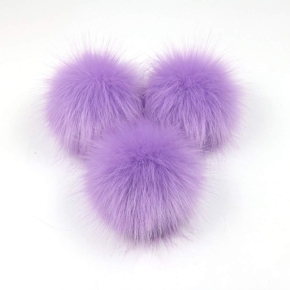 SUPVOX PON PON Pelliccia per Cappelli Borse Portachiavi Scarpe 12 Pezzi  (Ogni Colore con 2) bc458f2a483f