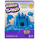 Spin Master 6028531 - Kinetic Neon Sand, groß, 680 g, blau